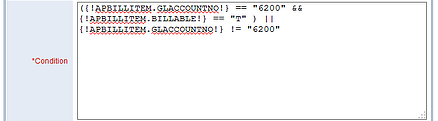 intacct condition