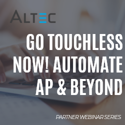 Altec go touchless now! Automate AP & Beyond