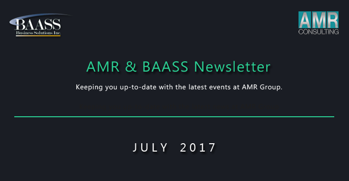AMR Group July Newsletter