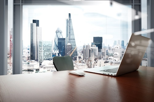 tech office in the city of london