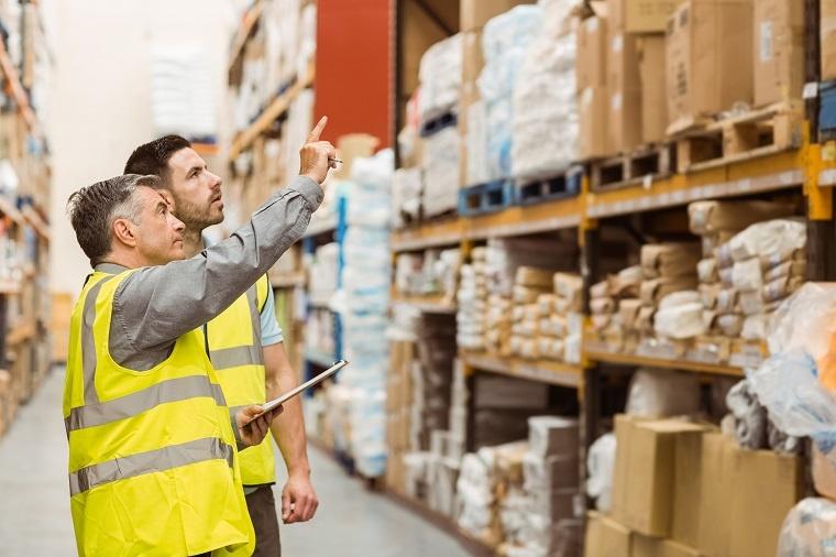 warehouse work man inventory management
