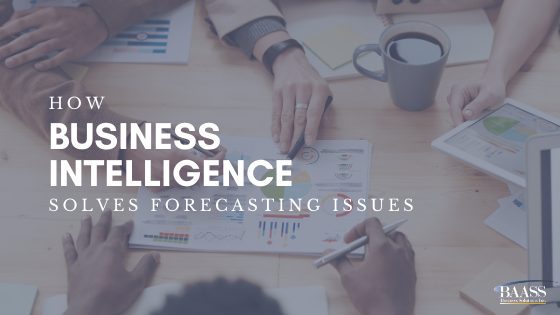 How Business Intelligence Solves Forecasting Issues