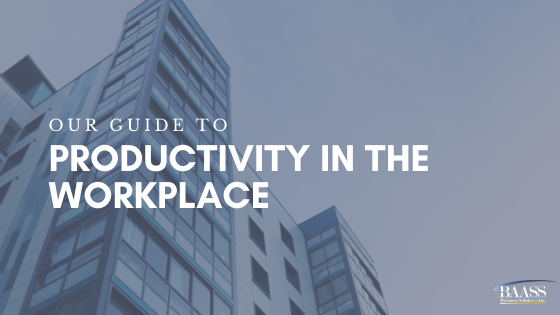 Blog - Our Guide to Productivity in the Workplace