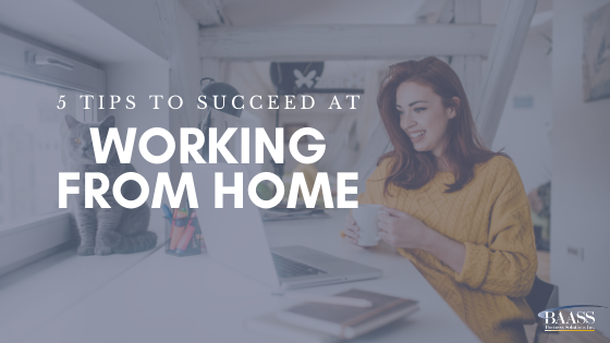 Blog - Working from home tips