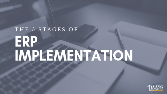 5 Stages of ERP Implementation Blog