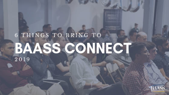 6 Things to Bring to BAASS Connect