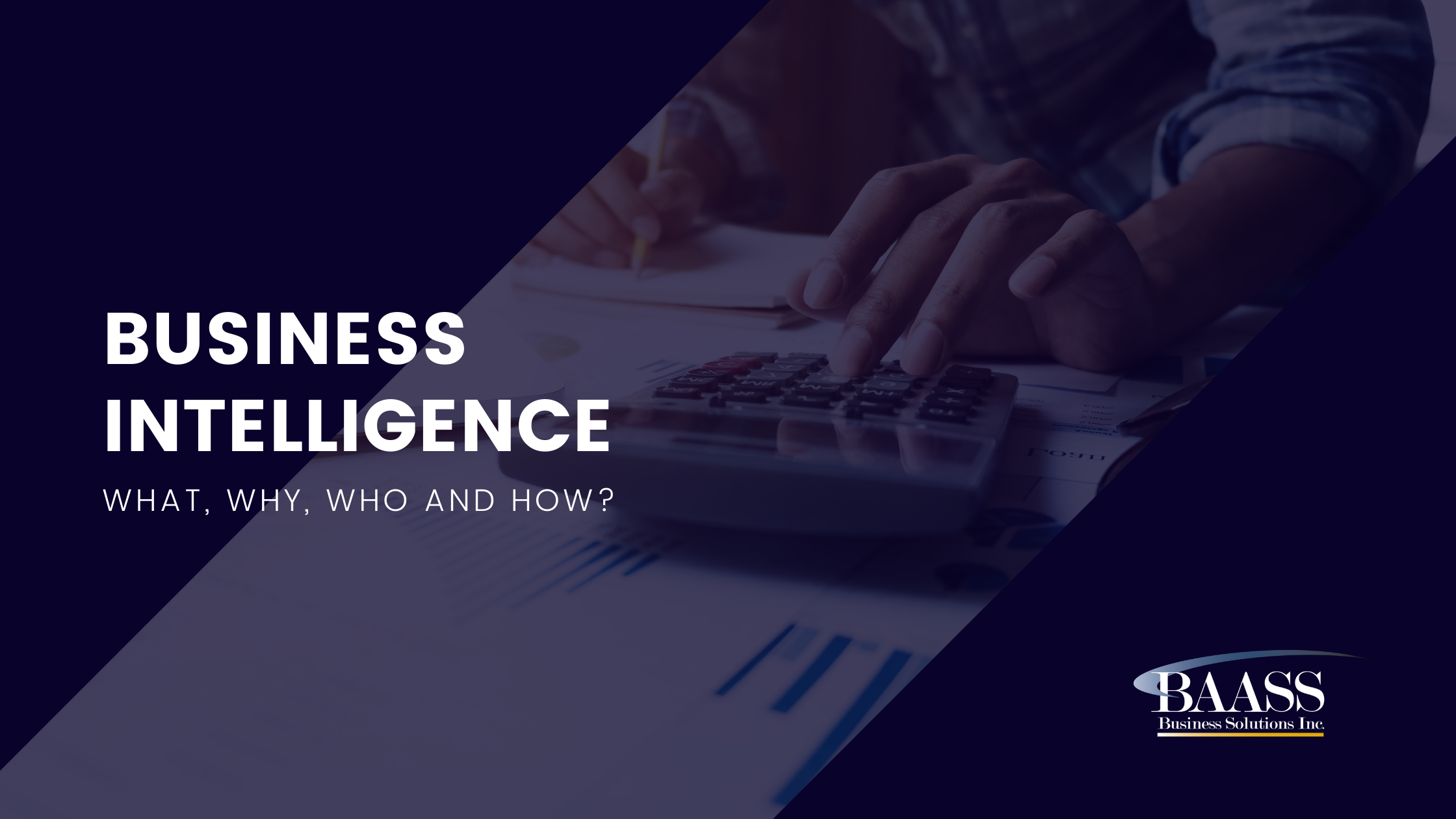 Business Intelligence (BI) - What, Why, Who and How