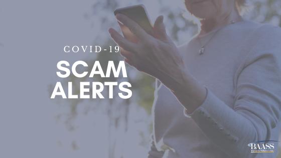 COVID-19 Scam Alerts