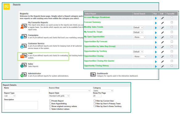 CRM Reporting and Analytics