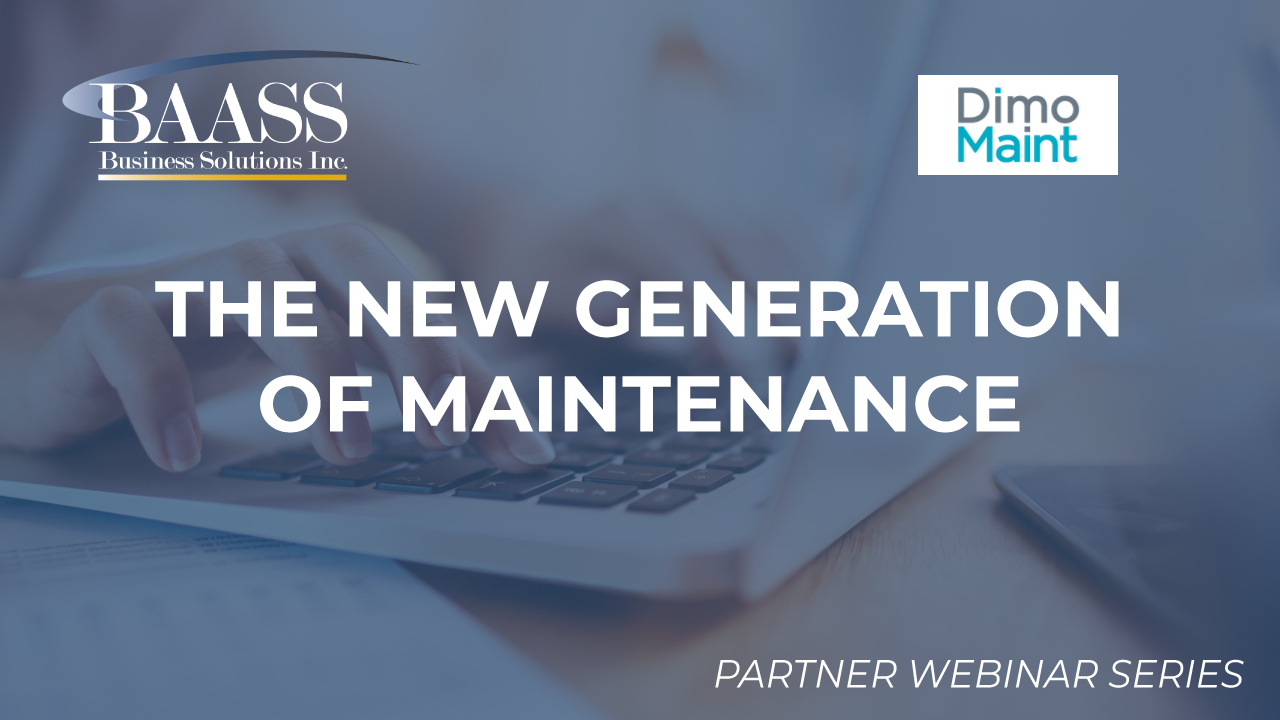 Dimo Maint: The New Generation of Maintenance