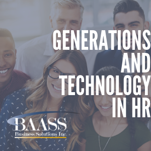 The Generations and Technology in HR
