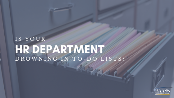 Is Your HR Department Drowning in To-Do Lists?