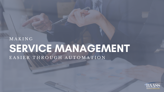 Making Service Management Easier Through Automation