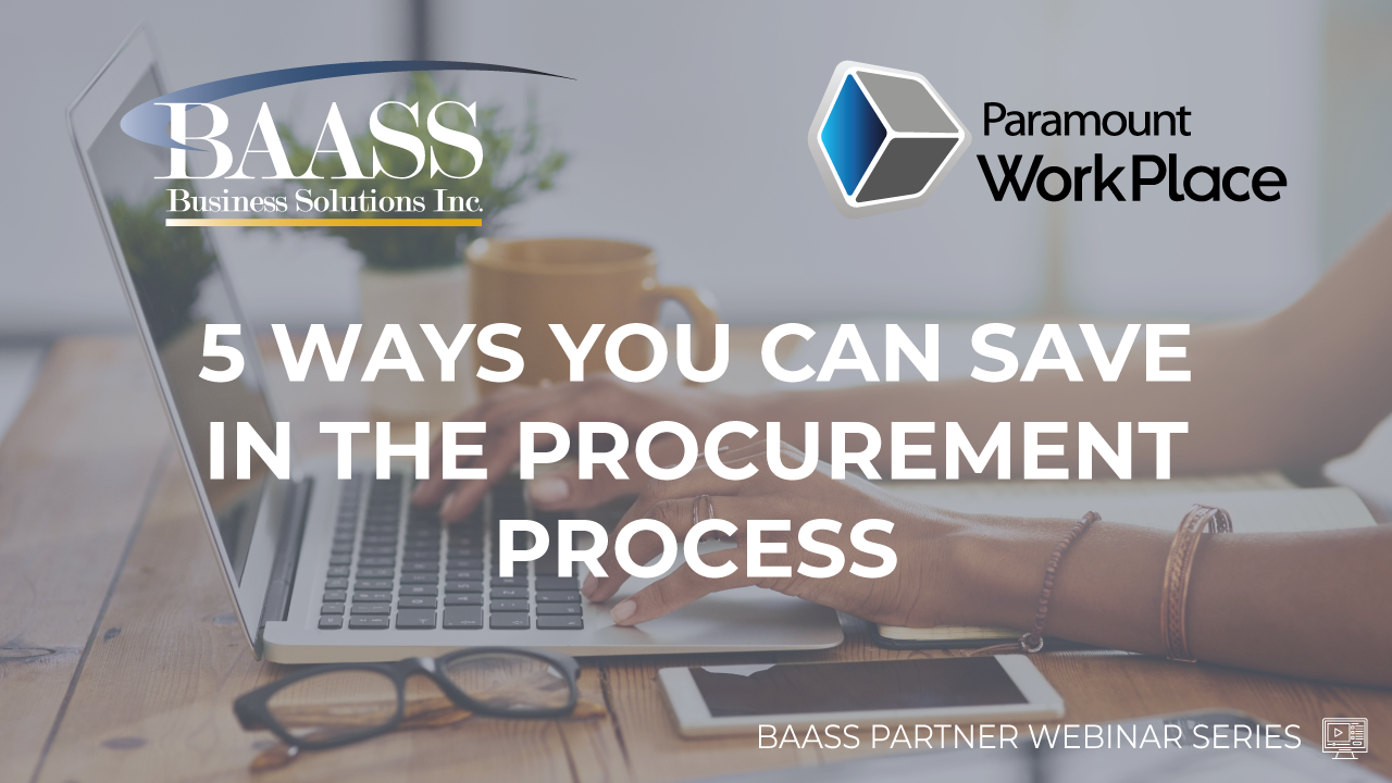 5 Ways You Can Save in the Procurement Process