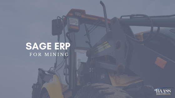 Sage ERP for Mining
