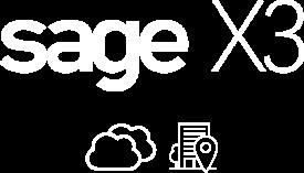 Sage x3 - ERP page