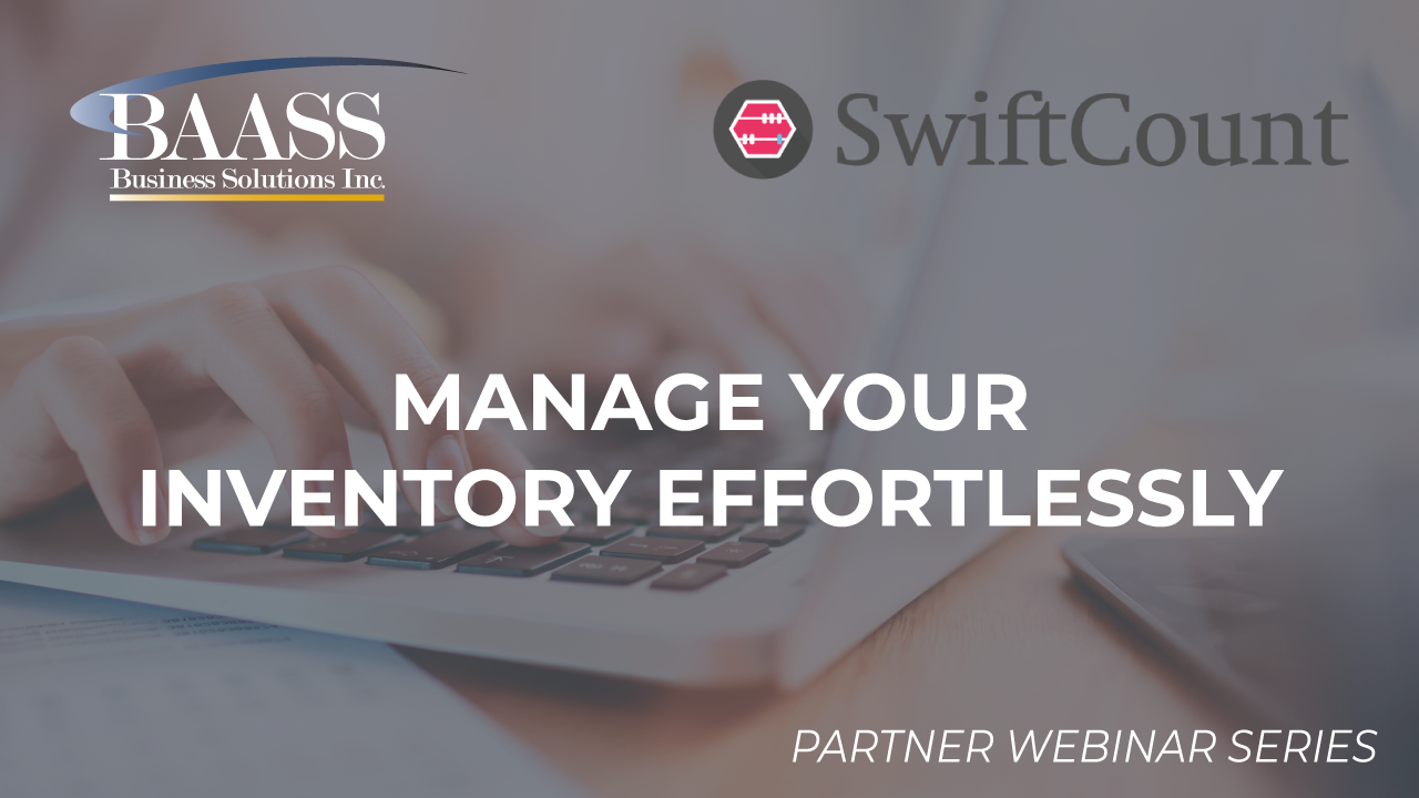 Manage your inventory effortlessly