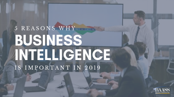 The importance of business intelligence