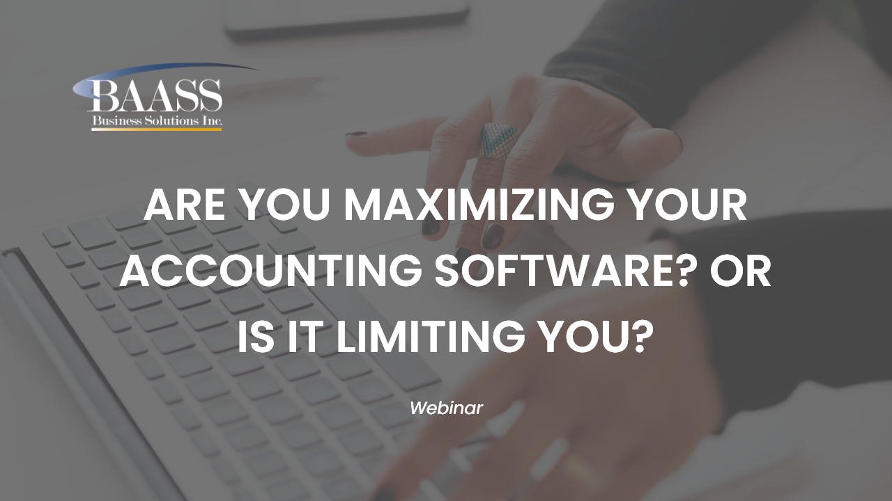 Are you Maximizing your ERP or is it Limiting You?