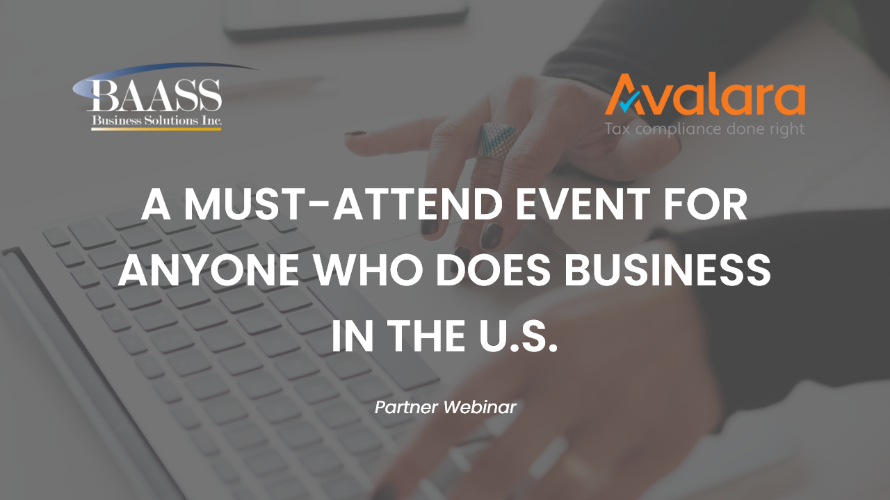 A Must-Attend Event for Anyone Who Does Business in the U.S.