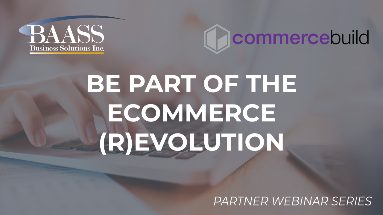 Be Part of the eCommerce (R)evolution