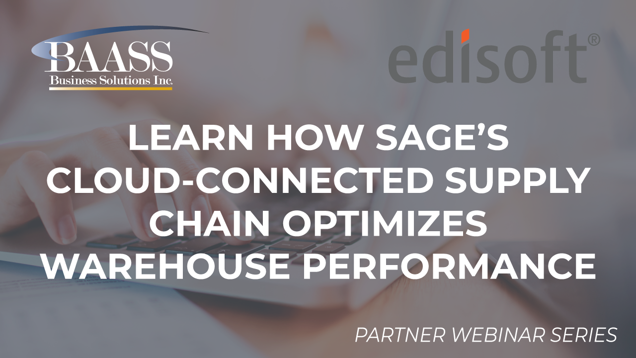 Learn how Sage's Cloud-Connected Supply Chain optimizes Warehouse Performance
