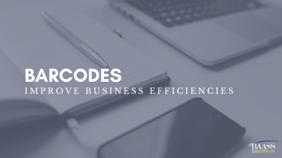 Barcodes Improve Business Efficiencies