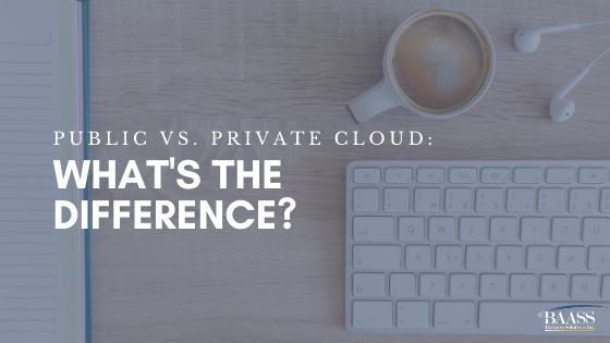 Public vs. Private Cloud: What Is the Difference?