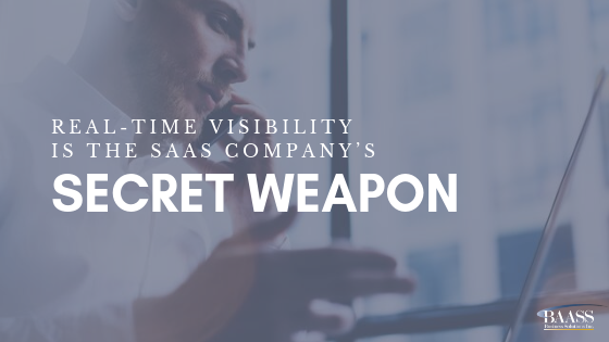 Real-Time Visibility is the SaaS Company's Secret Weapon
